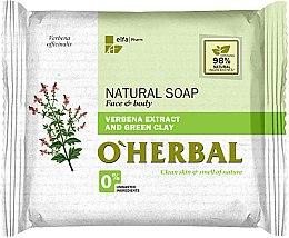 Parfüm, Parfüméria, kozmetikum Természetes szappan verbéna és zöld agyag kivonattal - O'Herbal Natural Soap