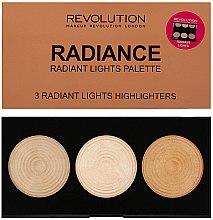 Parfüm, Parfüméria, kozmetikum Highlighter élénkítő paletta - Makeup Revolution Highlighter Palette