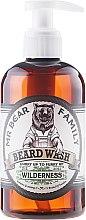 Parfüm, Parfüméria, kozmetikum Sampon szakállra - Mr. Bear Family Beard Wash Wilderness