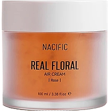 Parfüm, Parfüméria, kozmetikum Arckrém rózsaszírmokkal - Nacific Real Floral Rose Air Cream