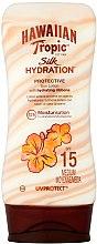 Parfüm, Parfüméria, kozmetikum Napvédő lotion testre - Hawaiian Tropic Silk Hydration Sun Lotion SPF 15