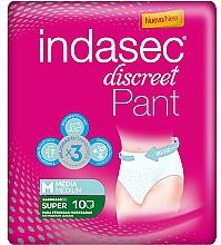 Parfüm, Parfüméria, kozmetikum Tisztasági betét, 10 db - Indasec Discreet Pant Medium Super