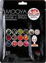 """Parfüm, Parfüméria, kozmetikum Maszk + szérum """"Selyemfehérjék kézregenerálása"""" - Beauty Face Mooya Bio Organic Treatment Mask + Serum"""