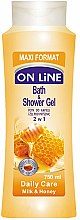 Parfüm, Parfüméria, kozmetikum Fürdő- és tusfürdő hab - On Line Daily Care Bath & Shower Gel