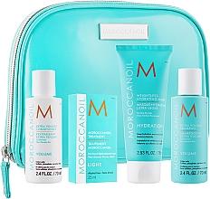 "Parfüm, Parfüméria, kozmetikum Szett ""Volumen"" - MoroccanOil (shm/70ml + cond/70ml + mask/75ml + oil/25ml + bag)"