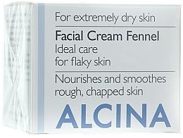 Parfüm, Parfüméria, kozmetikum Arckrém - Alcina T Facial Cream Fennel
