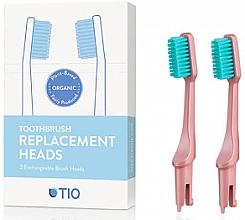 Parfüm, Parfüméria, kozmetikum Cserélhető fogkefefej, lágy, rózsaszín - TIO Toothbrush Soft