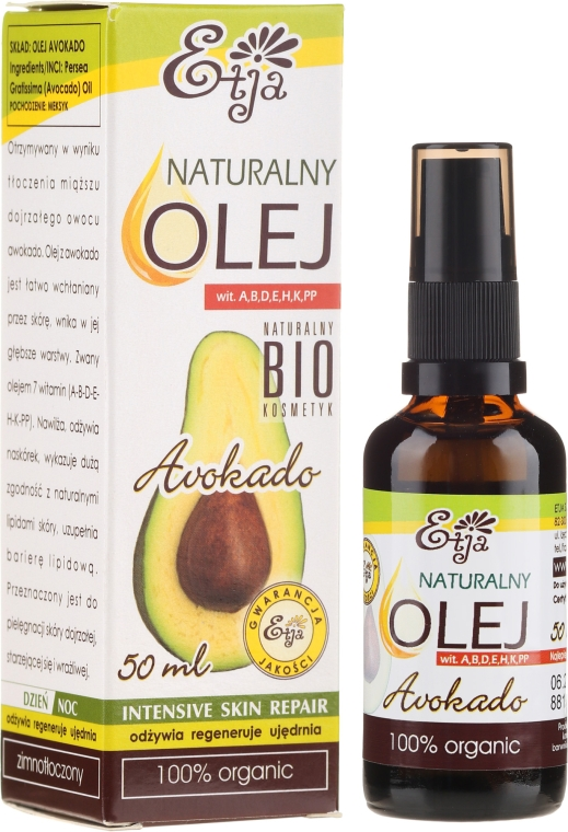 Természetes szappan avokádóval - Etja Natural Oil