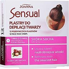 Parfüm, Parfüméria, kozmetikum Arcgyanta csík argánolajjal - Joanna Sensual Depilatory Face Strips