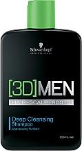 Parfüm, Parfüméria, kozmetikum Mélytisztító sampon - Schwarzkopf Professional 3D Mension Deep Cleansing Shampoo