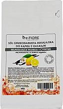 """Parfüm, Parfüméria, kozmetikum Himalájai só """"Vanília és citrom"""" - E-fiore Himalayan Salt With Oils Sensual Vanilla With Lemon"""
