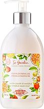 "Parfüm, Parfüméria, kozmetikum Folyékony szappan ""Narancsvirág"" - Institut Karite So Garden Collection Privee Orange Blossom Marseille Liquid Soap"