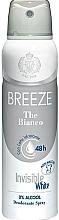 Parfüm, Parfüméria, kozmetikum Breeze Deo Spray The Bianco - Testdezodor