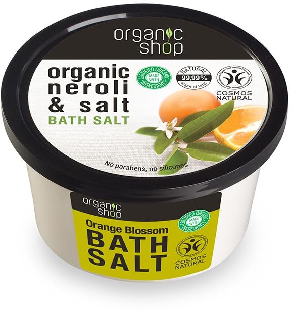 """Fürdősó """"Narancsvirág"""" - Organic Shop Baths Salt Organic Neroli & Salt — fotó N1"""