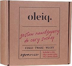 Parfüm, Parfüméria, kozmetikum Szett - Oleiq (hydrolat/100ml + oil/100ml + oil/30ml)