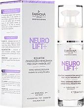 Parfüm, Parfüméria, kozmetikum Szemkörnyékápoló krém - Farmona Neuro Lift+ Mimic Wrinkle Reducer