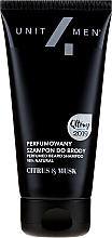 Parfüm, Parfüméria, kozmetikum Illatosított szakáll sampon - Unit4Men Citrus&Musk Perfumed Beard Shampoo
