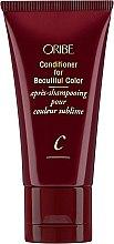 Parfüm, Parfüméria, kozmetikum Hajkondicionáló festett hajra - Oribe Conditioner For Beautiful Color (mini)
