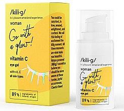 Parfüm, Parfüméria, kozmetikum Szemkörnyékápoló gél C vitaminnal - Kili·g Woman Eye Gel