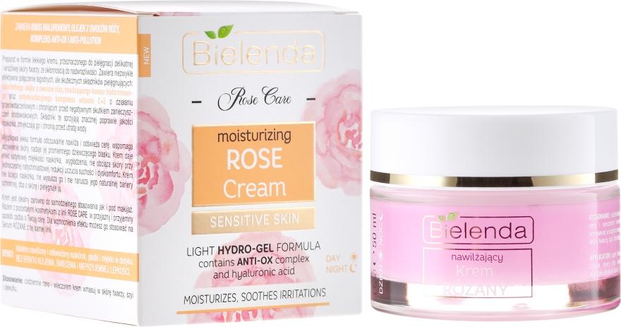 """Hidratáló és nyugtató arckrém """"Rózsa"""" - Bielenda Rose Care Cream"""