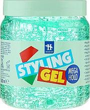 Parfüm, Parfüméria, kozmetikum Hajmodellező gél - Tenex Styling Wetlook Green Gel
