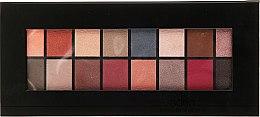 Parfüm, Parfüméria, kozmetikum Szemhéjfesték paletta, 16 db - Aden Cosmetics Eyeshadow Palette