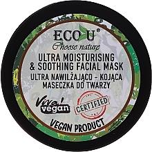 Parfüm, Parfüméria, kozmetikum Hidratáló arcmaszk - Eco U Choose Nature Ultra Moisturing & Soothing Face Mask