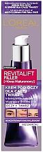 Parfüm, Parfüméria, kozmetikum Krém szemhéjra és arcra - L'Oreal Paris Revitalift Filler Eye Cream For Face