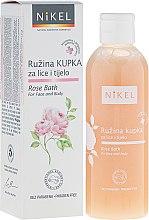 Parfüm, Parfüméria, kozmetikum Fürdőhab arcra és testre - Nikel Rose Bath