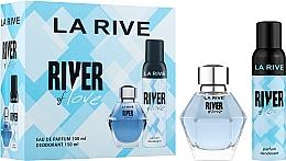 Parfüm, Parfüméria, kozmetikum La Rive River Of Love - Szett (edp/100ml + deo/150ml)
