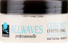 Parfüm, Parfüméria, kozmetikum Matt hatású hajviasz - Allwaves Matt Hair Wax
