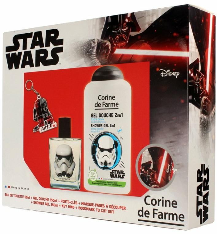 Corine de Farme Star Wars - Szett (edt/50ml +sh/gel/250ml + accessories)