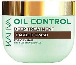 Parfüm, Parfüméria, kozmetikum Maszk zsíros hajra - Kativa Oil Control Deep Treatment