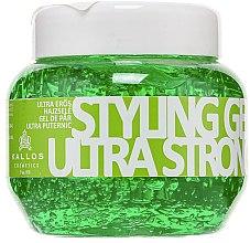 Parfüm, Parfüméria, kozmetikum Hajformázó zselé, ultra erős fixáló - Kallos Cosmetics