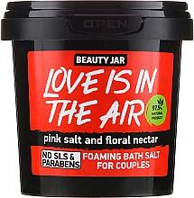"Parfüm, Parfüméria, kozmetikum Habzó fürdősó ""Love Is In The Air"" - Beauty Jar Foaming Bath Salt"
