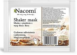 "Parfüm, Parfüméria, kozmetikum Alginát arcmaszk ""Bora Bora"" - Nacomi Shaker Mask"
