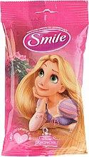 "Parfüm, Parfüméria, kozmetikum Nedves törlőkendő ""Hercegnők"" 15db, Rapunzel - Smile Ukraine Princess"