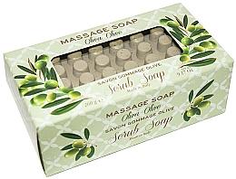 """Parfüm, Parfüméria, kozmetikum Szappan-radír masszázshoz """"Olíva"""" - Gori 1919 Massage Scrub Soap Olive"""