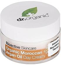 "Parfüm, Parfüméria, kozmetikum Nappali testkrém ""Marokkói argánolaj"" - Dr. Organic Bioactive Skincare Organic Moroccan Argan Oil Day Cream"