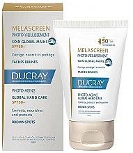 Parfüm, Parfüméria, kozmetikum Pigmentáció elleni szer kézre - Ducray Melascreen Global Hand Care SPF 50+