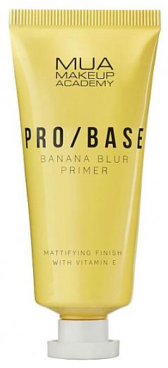 Mattító arcprimer banán illattal - Mua Pro/ Base Banana Blur Primer