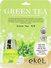 Parfüm, Parfüméria, kozmetikum Szövetmaszk zöld tea kivonattal - Ekel Green Tea Ultra Hydrating Essence Mask