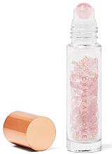 Parfüm, Parfüméria, kozmetikum Roll-on üveg rózsakvarccal, 10 ml - Crystallove