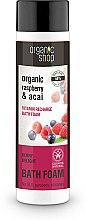 """Parfüm, Parfüméria, kozmetikum Fürdőhab """"Vitaminbomba. Gyümölcsös élvezet"""" - Organic Shop Organic Acai and Raspberry Berry Bath Foam"""