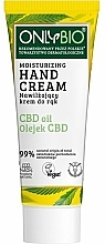 Parfüm, Parfüméria, kozmetikum Hidratáló kézkrém - Only Bio Only Eco CBD Oil