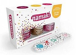 Parfüm, Parfüméria, kozmetikum Készlet - Namaki (polish/7.5ml+acc) (Caribbean + Coral-bronze + Lime)