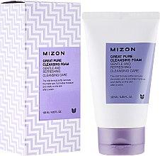 Parfüm, Parfüméria, kozmetikum Arcisztító hab és bőrradír - Mizon Great Pure