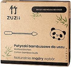Parfüm, Parfüméria, kozmetikum Bambusz fültisztító - Zuzii Bamboo Cotton Buds
