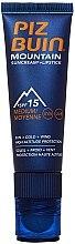 Parfüm, Parfüméria, kozmetikum Ajak- és arckrém SPF 15 - Piz Buin Mountain Sun Cream Plus Lipstick SPF15