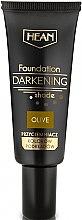 Parfüm, Parfüméria, kozmetikum Sötét alapozó emulzió, olíva - Hean Darkening Shade